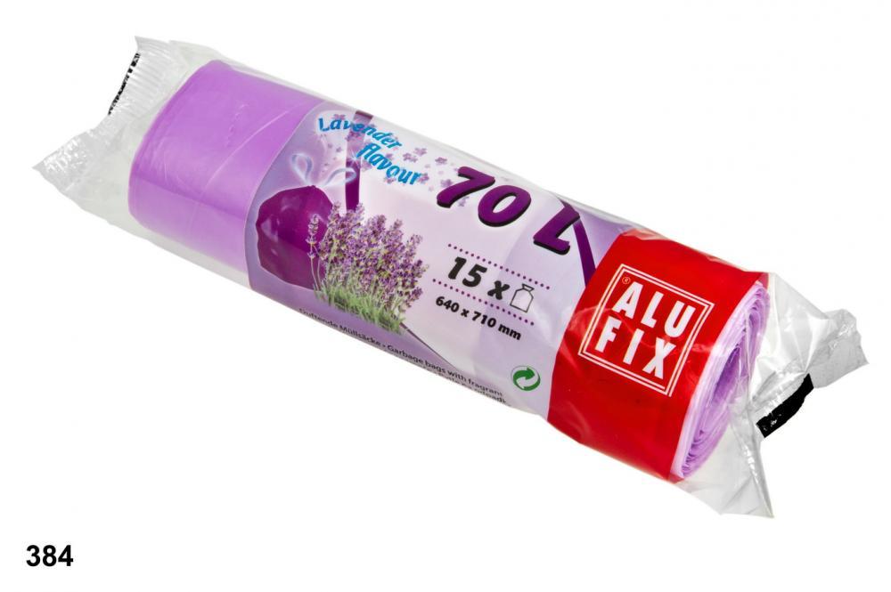 Pytle 70L do odpadkových košů s aroma levandule