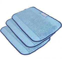 Utěrky z mikrovláken pro iRobot Braava 3ks modré