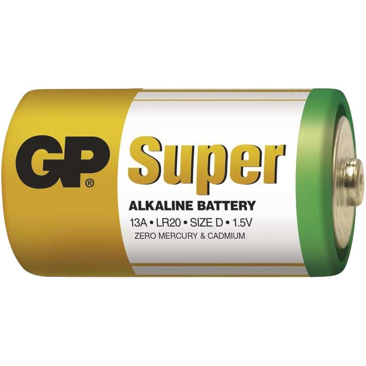 Batéria GP Alkaline D Velké Mono