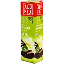 Vrecia 40L do odpadkových košov so zaťahovaním s arómou čaju s vanilkou
