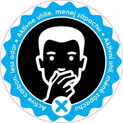 Patrona s uhlím proti zápachu pro koše HiMAXX