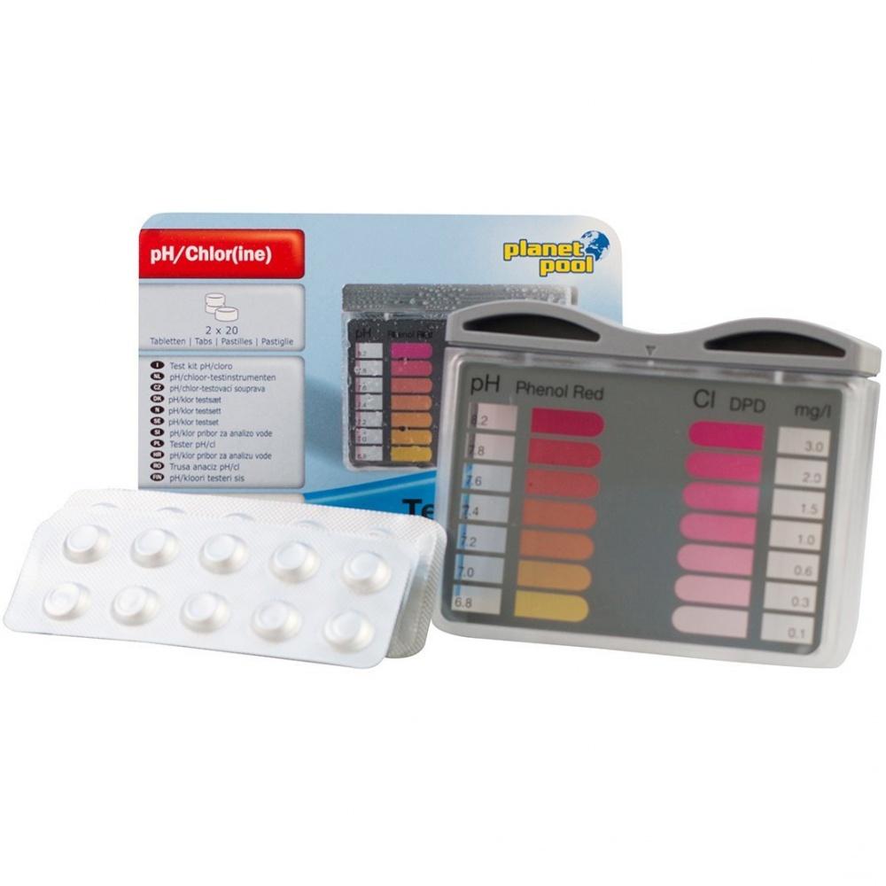 Tester na meranie pH / Cl + 2x20 tablet