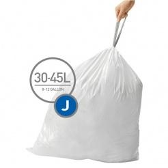 Vrecia typu J do odpadkových košov Simplehuman - 20ks