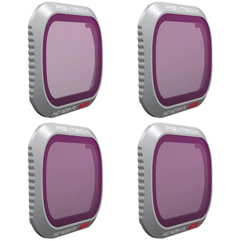 Set ND + PL Professional filtrov pre DJI Mavic 2 PRO (ND8/16/32/64)