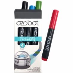 Sada farebných fixiek pre Ozobot - 4 ks