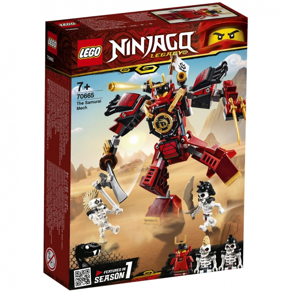 LEGO Ninjago 70665 Samurajský robot