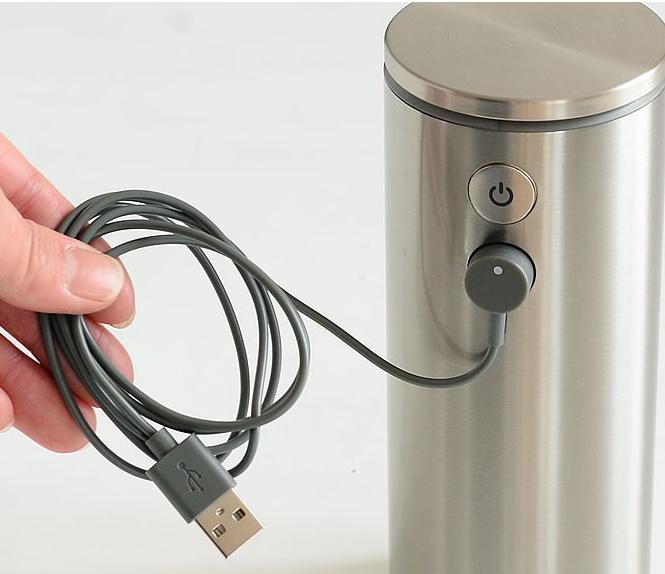 Nabíjací kábel pre bezdotykové dávkovače mydla Simplehuman