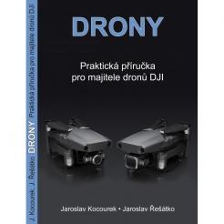Kniha Drony - druhé vydanie