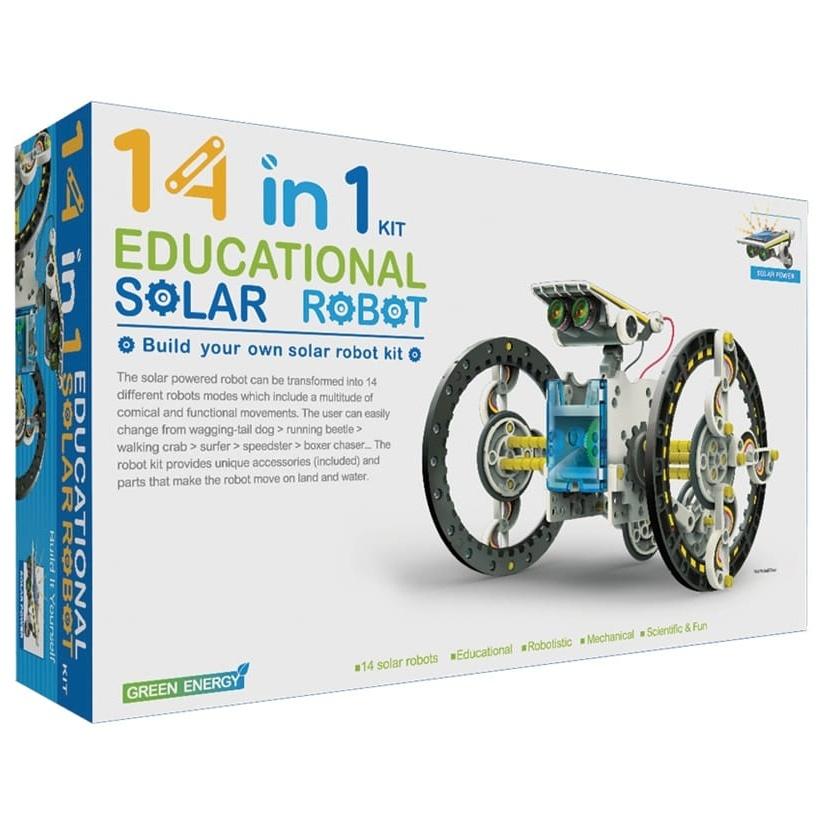 Obojživelník - solárny set 13v1