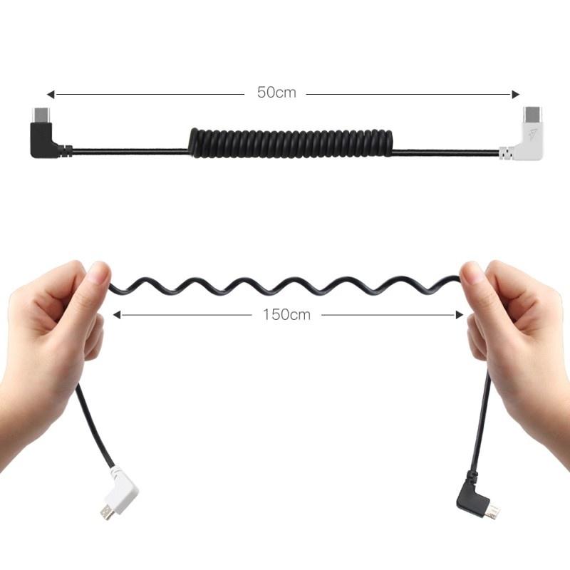 Prepojovací microUSB kábel pre DJI Goggles / DJI Spark
