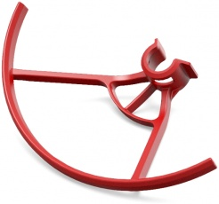 Ochranné oblúky vrtúľ pre DJI Ryze Tello Iron Man Edition