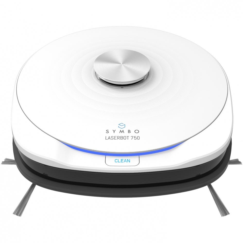 Symbo LASERBOT 750 White WiFi + mop (víťaz Reddot Award)