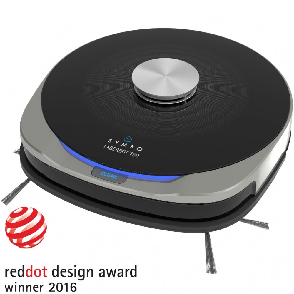 Symbo LASERBOT 750 WiFi + mop (víťaz Reddot Award)