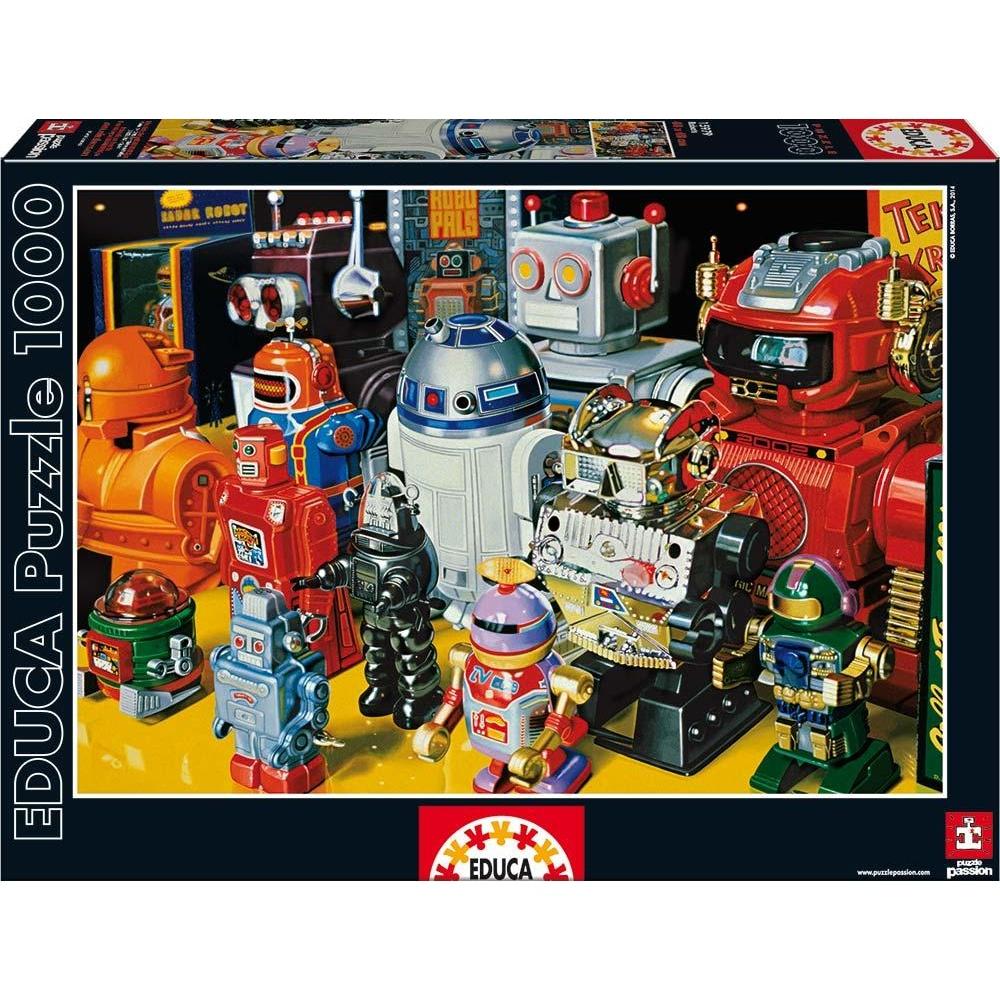 EDUCA Puzzle Roboti 1000 dielikov