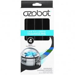 Sada čiernych fixiek pre Ozobot - 4 ks