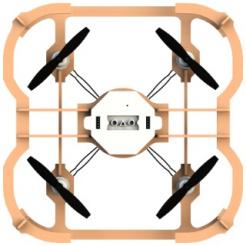 AirWood Cube s programovacím modulom
