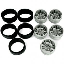 Súprava náhradných kolies a pneumatík pre Abilix
