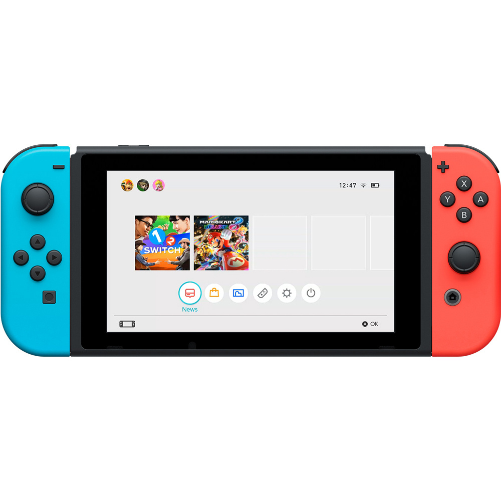 Nintendo Switch – Neon Red&Blue Joy-Con v2