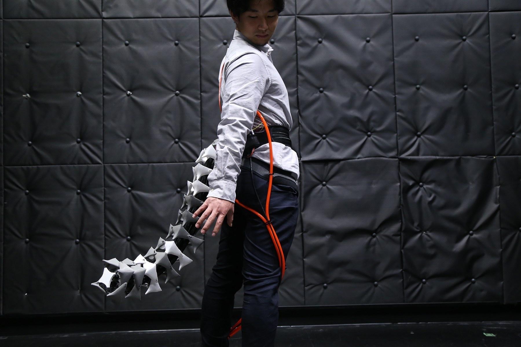 Vďaka robotickému chvostu Arque budete možno rovnako vrtkí ako mačka