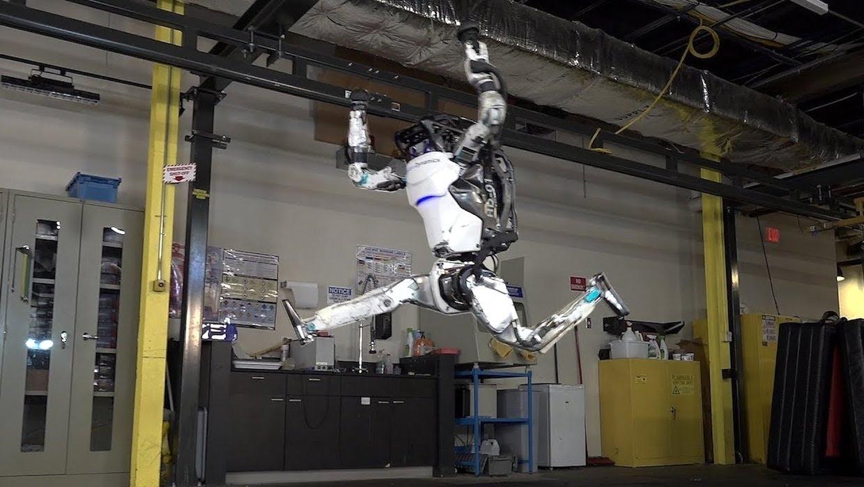 Gymnastické kúsky v podaní Boston Dynamics