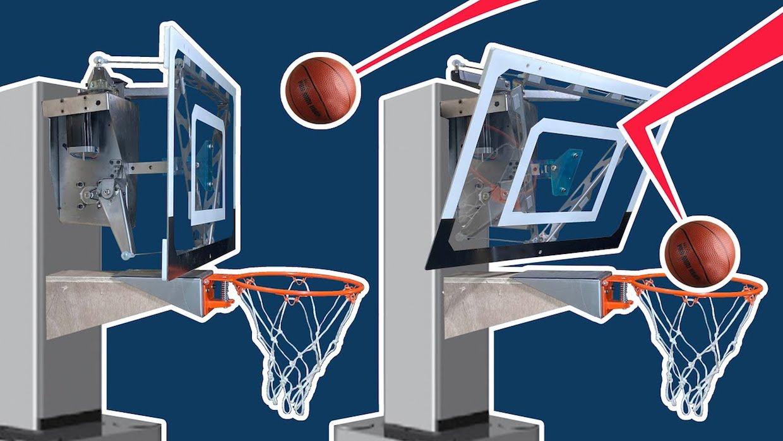 Basketbalový kôš, ktorý vás nenechá minúť
