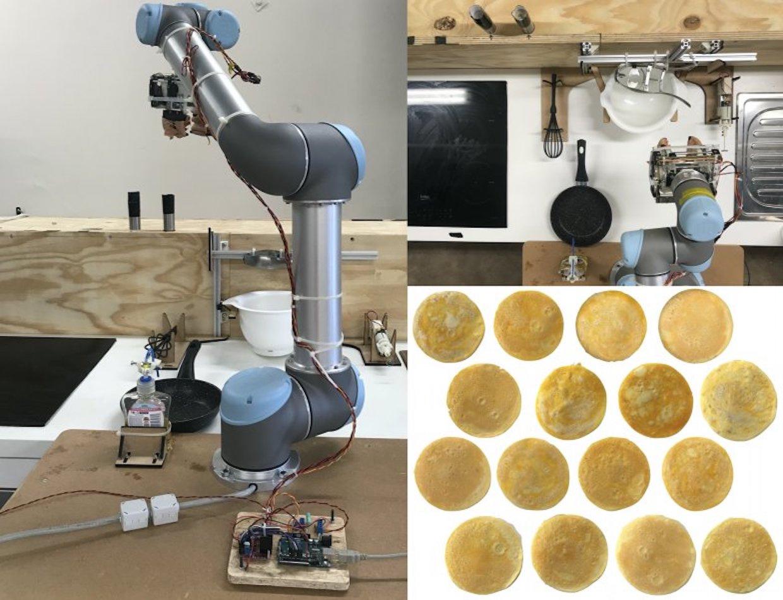 Robot, ktorý si poradí s prípravou perfektnej omelety