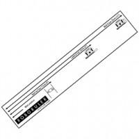 Pravítko na inštaláciu obvodového drôtu