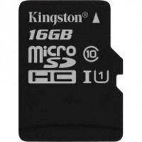 Kingston microSDHC 16GB karta