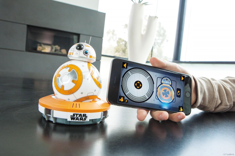 Sphero BB-8 Star Wars aplikace