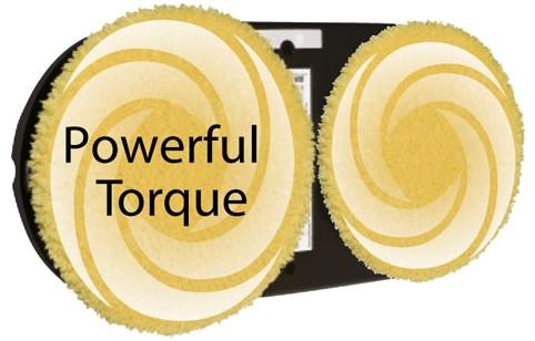 Powerful torque – účinnejšie čistenie