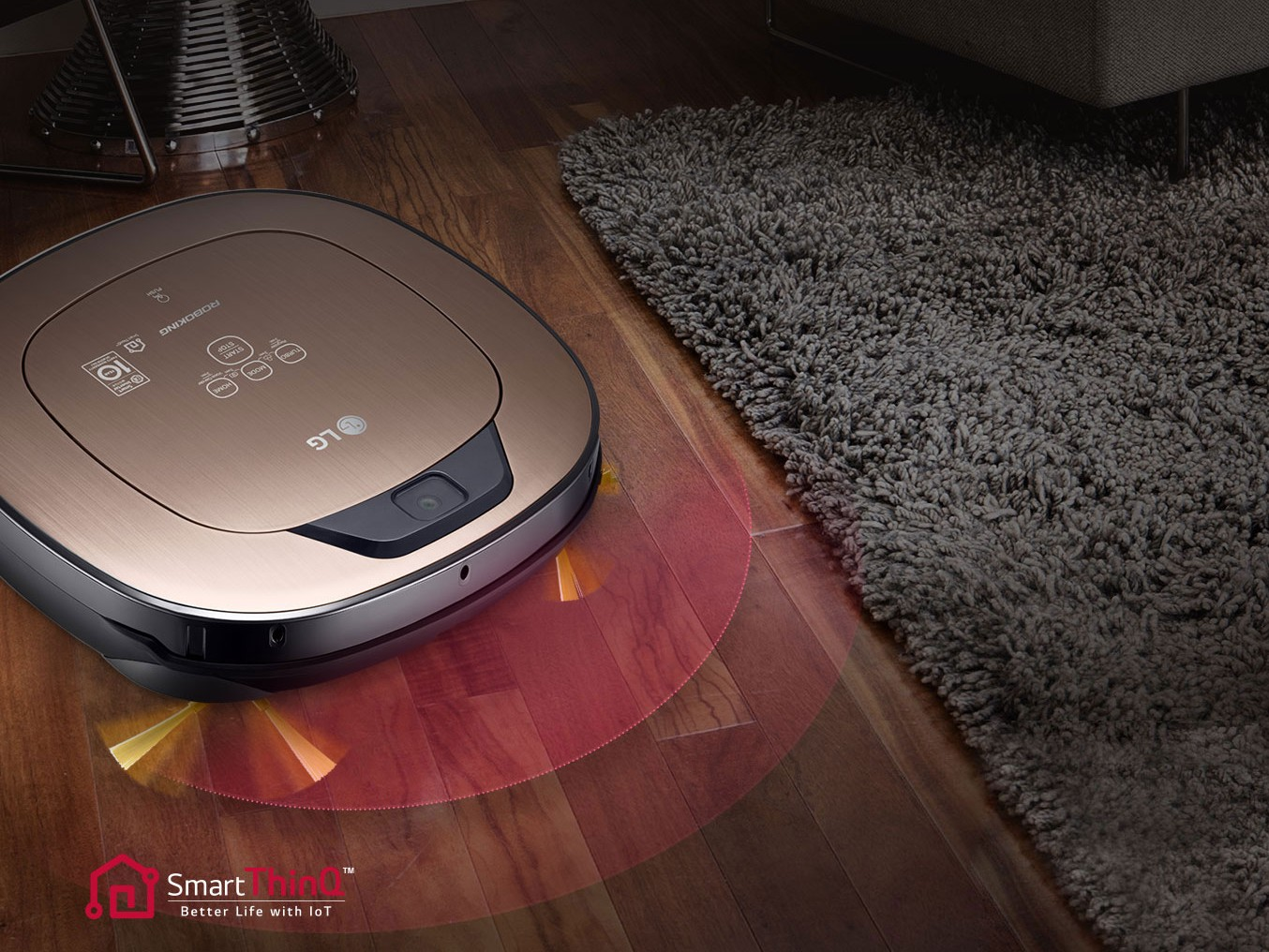Smart ThinQ - robotická domácnosť od LG