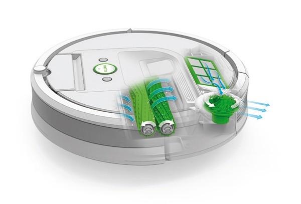 Trojstupňový čistiací systém AeroForce