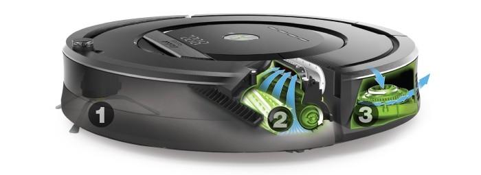 Třístupňový čisticí systém AeroForce