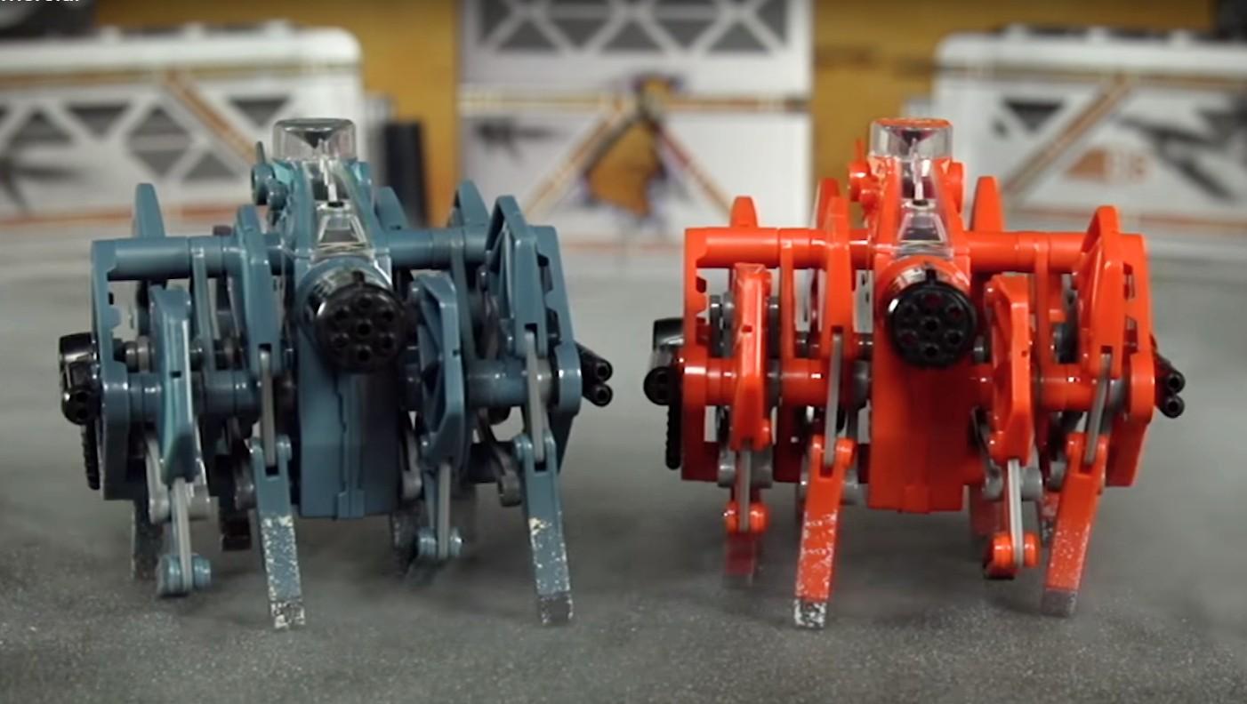 Představení robotické hračky HEXBUG Bojová tarantule