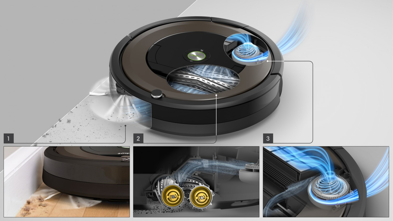 Trojstupňový čistiaci systém AeroForce