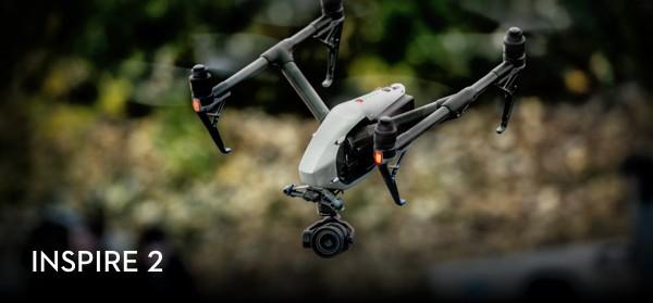Predstavenie drona DJI Inspire 2