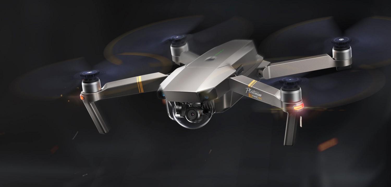 Predstavenie drona DJI Mavic Pro Platinum
