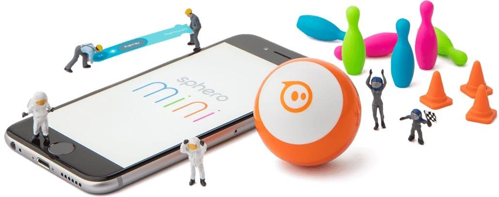 Představení robotické koule Sphero Mini
