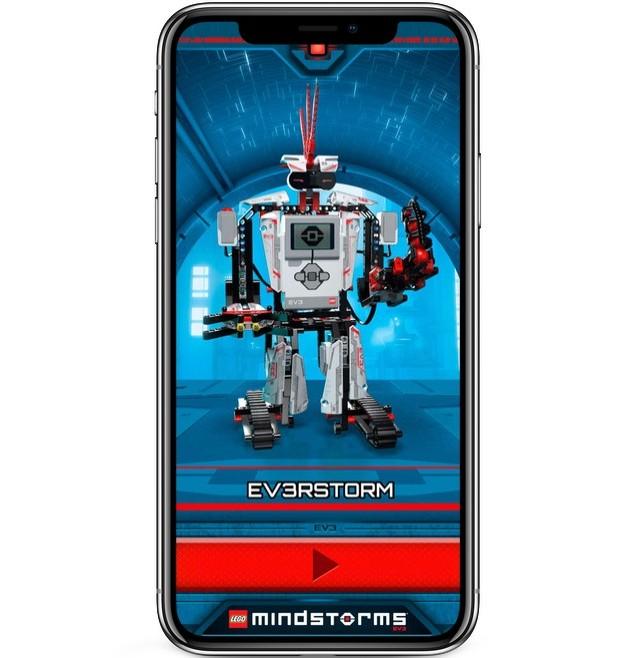 Zadávajte robotovi úlohy a posielajte ho na misie s aplikáciou LEGO Commander