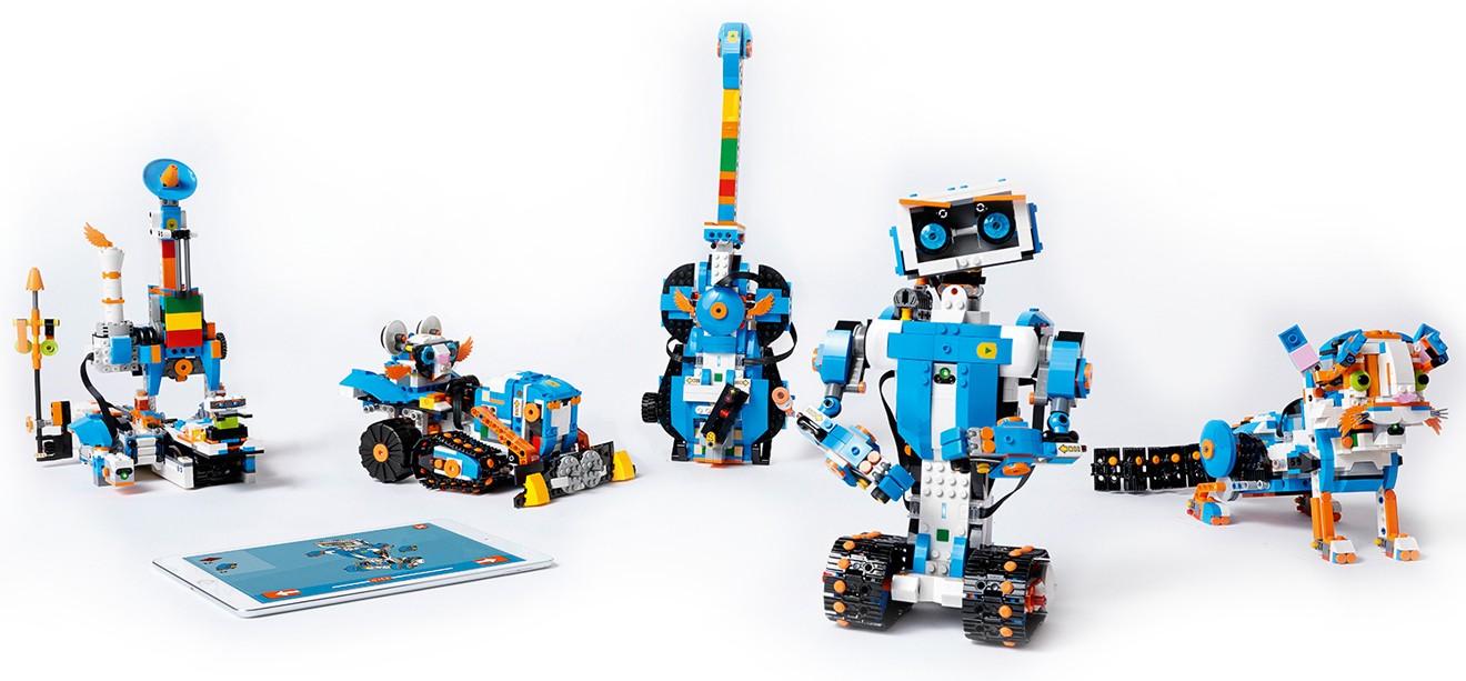 Tím LEGO Boost