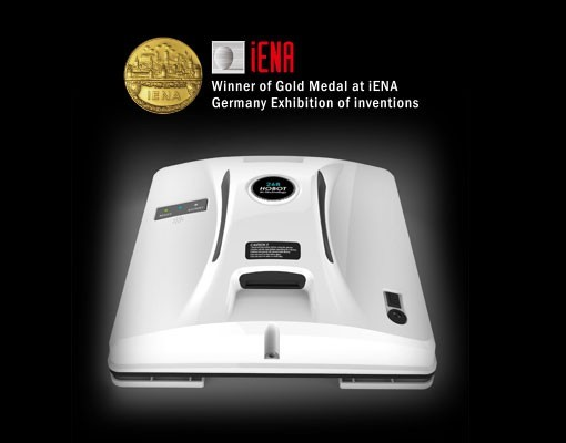 Získané ocenenie zlatá medaila Iena