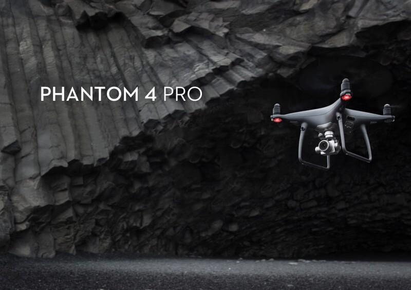 Predstavenie drona DJI Phantom 4 Pre Obsidian Edition