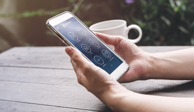 Ovládanie cez mobilnú aplikáciu