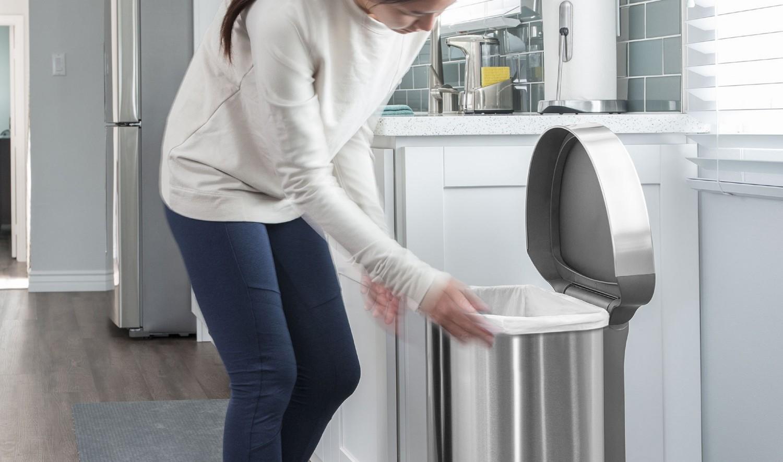 Elegantný dizajn, jednoduchá výmena odpadových vriec
