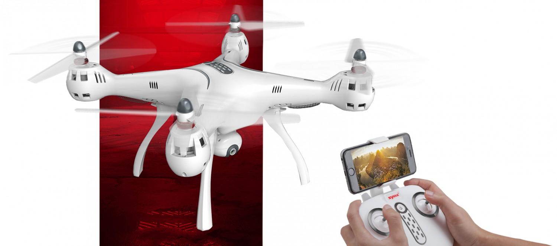 Prepojenie kamery s mobilným telefónom za pomoci aplikácie SYMA FPV