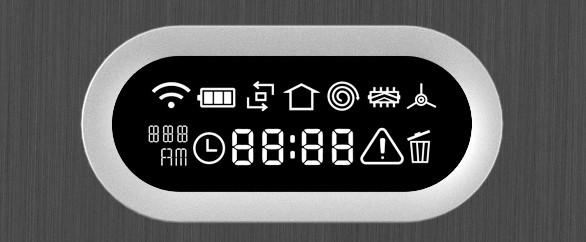 Prehľadný LCD displej