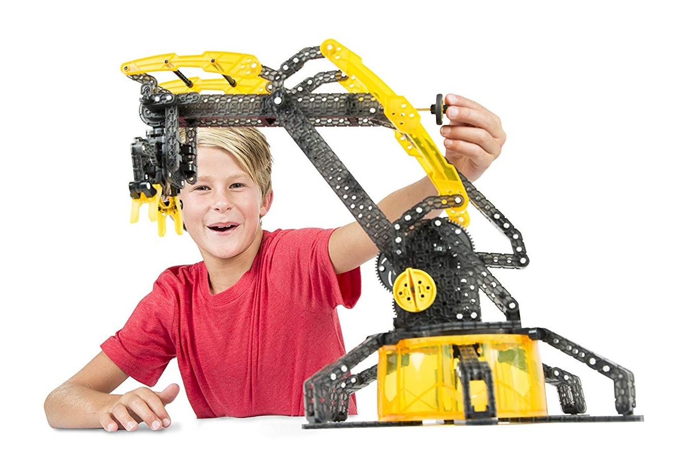 Predstavenie hračky HEXBUG VEX Robotické rameno