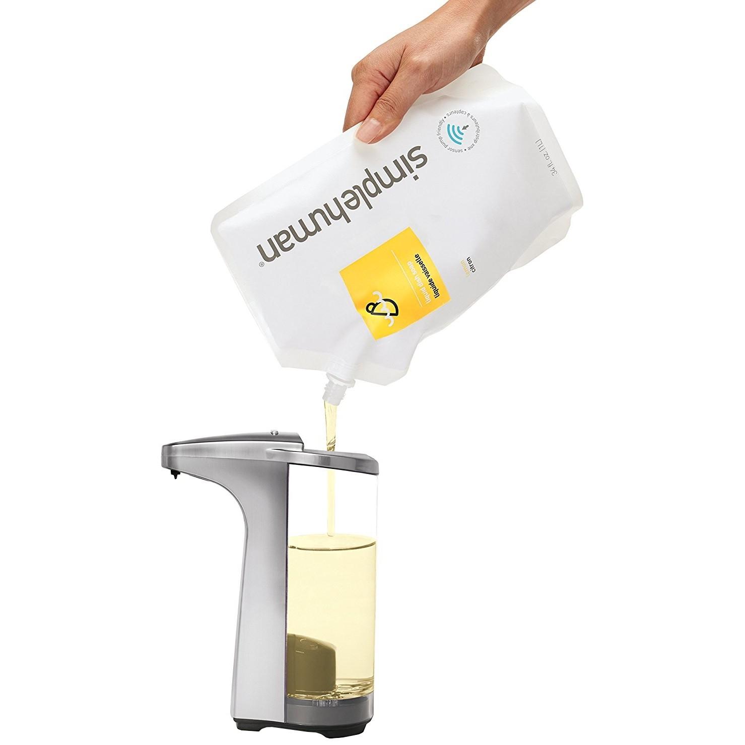 Jednoduché doplňovanie mydla
