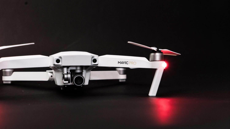 Predstavenie drona DJI Mavic PRO Alpine White Combo - Limited edition