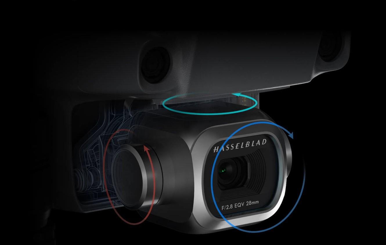 Kvalitná 4K Ultra HD kamera Hasselblad s mechanickou stabilizáciou